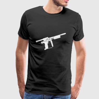 Sniper Pump Paintball - Men's Premium T-Shirt