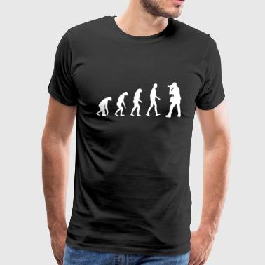 photography evolution - Men's Premium T-Shirt