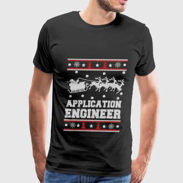 Funny Tf2 Scout Sayings Application engineer-Engineer Christmas sweater - Men's Premium T-Shirt