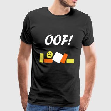 roblox oof - Men's Premium T-Shirt