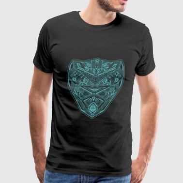 Angry Wilderness Mask of Wilderness - Men's Premium T-Shirt