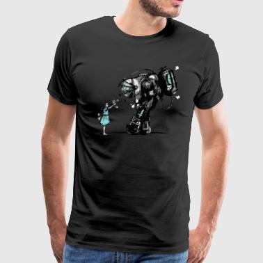 Bioshock Big Daddy - Men's Premium T-Shirt