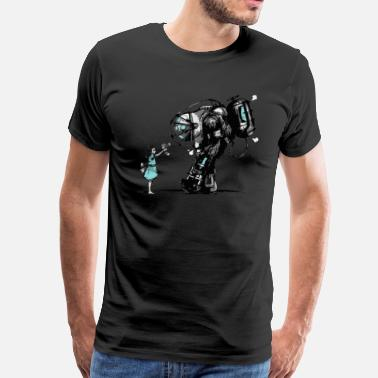 Bioshock Infinite Bioshock Big Daddy - Men's Premium T-Shirt