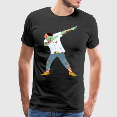 Dance Design For Zombie Dab Dance | Halloween Design - Men's Premium T-Shirt