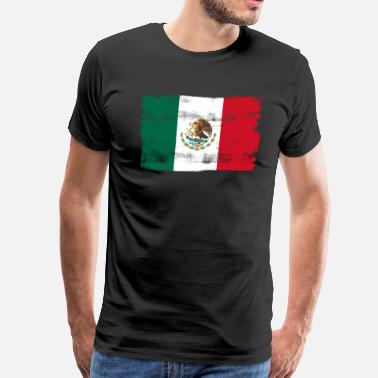 Mexicana Mexican Mexico Flag - Men's Premium T-Shirt