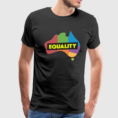 LGBT equality Yellow - Men's Premium T-Shirt