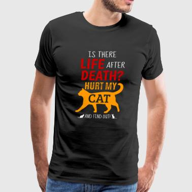 cat funny quote about cats gift - Men's Premium T-Shirt