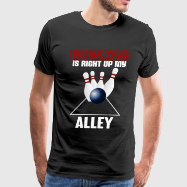 bowling alley - Men's Premium T-Shirt