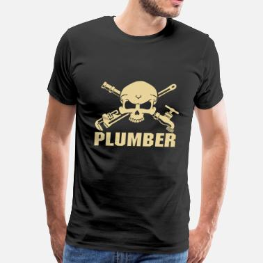 Furniture Plumber plumber wrench plumber  plumber plumber crack di - Men's Premium T-Shirt