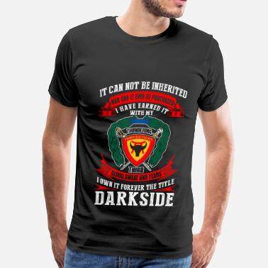 Luke Skywalker Darkside - I've earned it with my blood t-shirt - Men's Premium T-Shirt