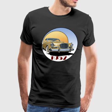 1957 Studebaker Golden Hawk - Men's Premium T-Shirt