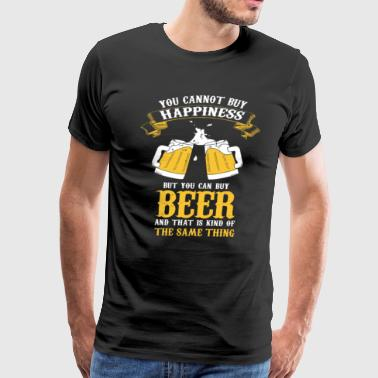 YOU CAN BUY BEER - Men's Premium T-Shirt