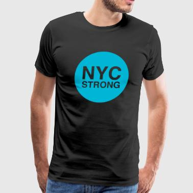 nyc strong - Men's Premium T-Shirt