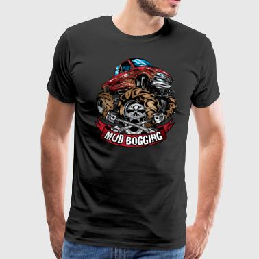 Mud Truck Bogging Shirt - Men's Premium T-Shirt