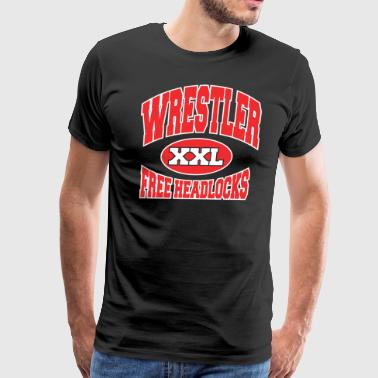 Funny Wrestling - Men's Premium T-Shirt