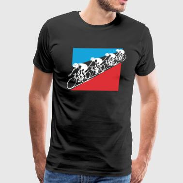 Le Tour De France Mens Cycling - Men's Premium T-Shirt