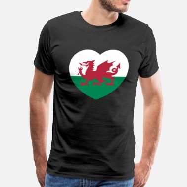Wales Rugby wales - Men's Premium T-Shirt