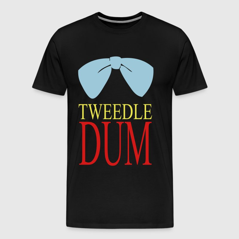 tweedle dum - Men's Premium T-Shirt
