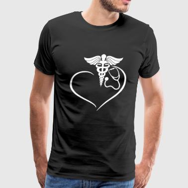 RN Heart Shirt - Men's Premium T-Shirt