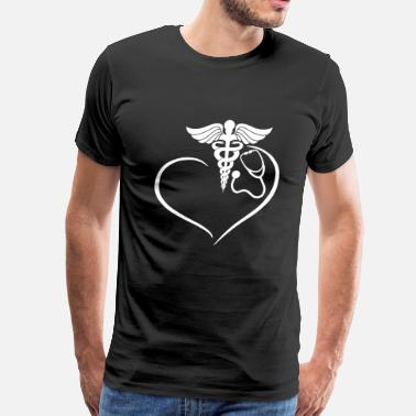 Rn Apparel RN Heart Shirt - Men's Premium T-Shirt