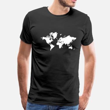 Shop World Map T Shirts Online Spreadshirt