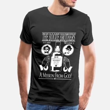 Bent Over Whiskey - The booze brothers est 1980 t-shirt - Men's Premium T-Shirt
