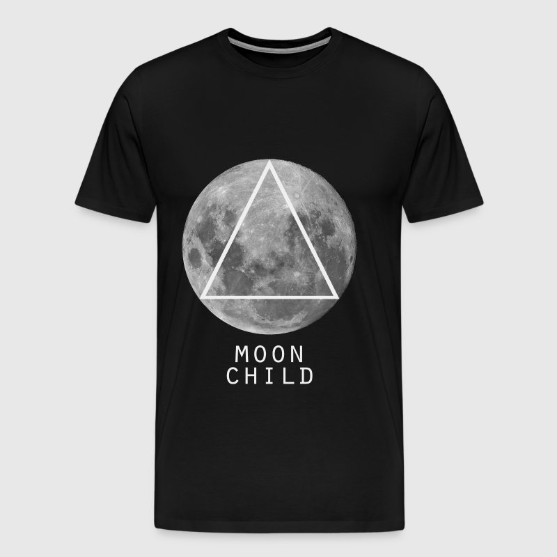 Moon Child Triangle - Men's Premium T-Shirt