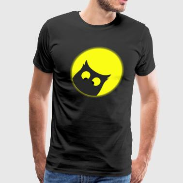 Cross Eyed OWL - Men's Premium T-Shirt