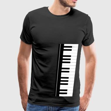 Piano keyboard - Men's Premium T-Shirt