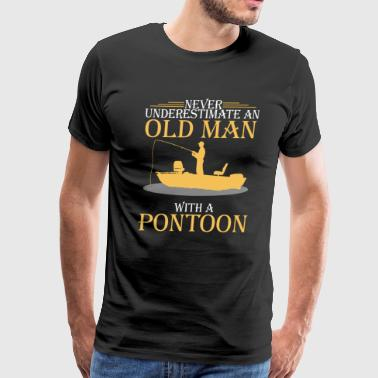 Old Guys Love Their Pontoon t-shirt - Men's Premium T-Shirt