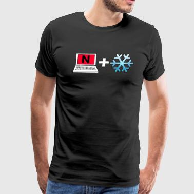 Netflix And Chill - Men's Premium T-Shirt