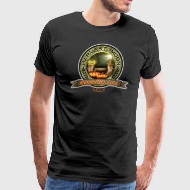 Oktoberfest 2014 Oktoberfest 2014 Harvest Moon Ale Label - Men's Premium T-Shirt