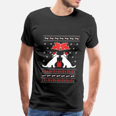 Dog Christmas Cards Dog Christmas - Dogs Lover - Men's Premium T-Shirt