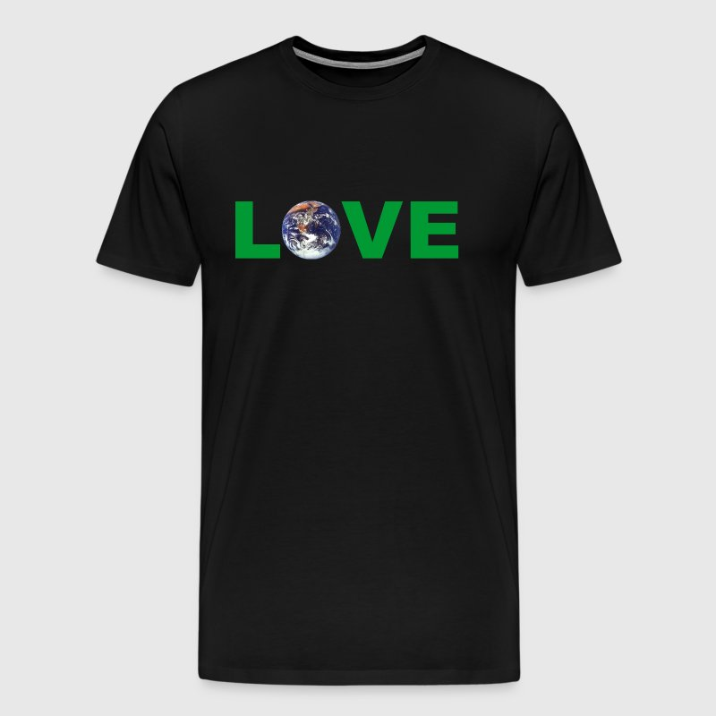 Earth Day Love Mother Earth - Men's Premium T-Shirt