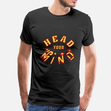 Acid Head Head Your Mind - Men's Premium T-Shirt