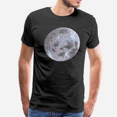 Moon Painting The Moon - Men's Premium T-Shirt