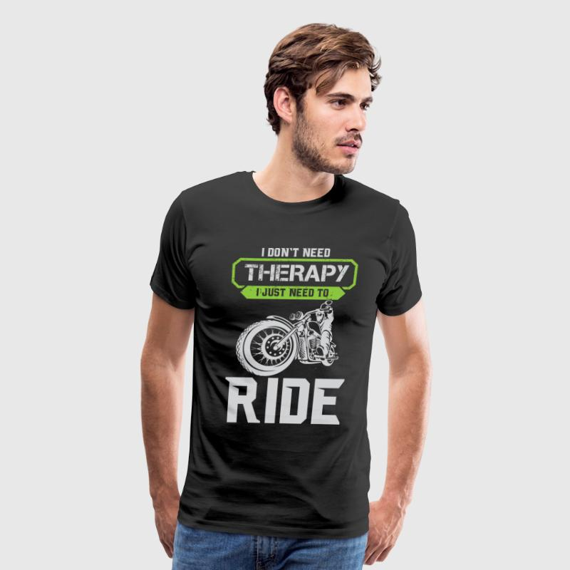Motorcycle Therapy - Men's Premium T-Shirt