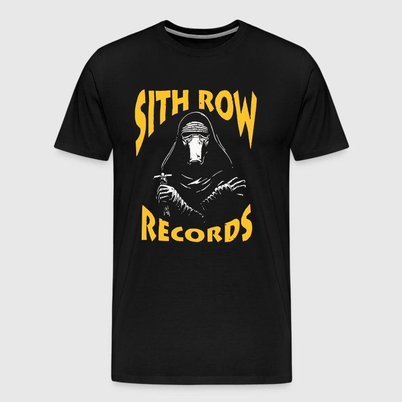 Kylo Ren Funny Cool Sith Row Records Awesome Music - Men's Premium T-Shirt
