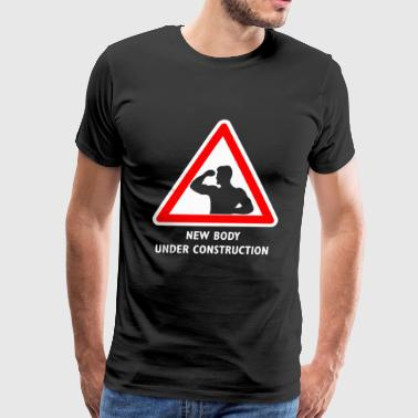 Road Sign - Men's Premium T-Shirt