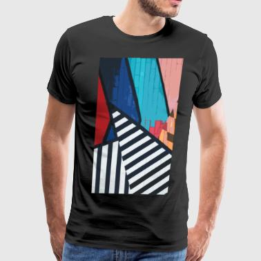 Grafitti Abstract Grafitti - Men's Premium T-Shirt