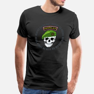Irish Republican Army 0398_irisharmyrangerskull2 - Men's Premium T-Shirt