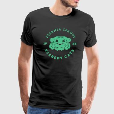 Scaredy Cat - Men's Premium T-Shirt
