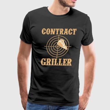Contract Griller 2C - Men's Premium T-Shirt