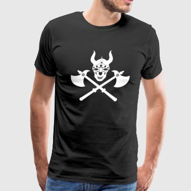 Ancient Emblem Viking emblem - Men's Premium T-Shirt
