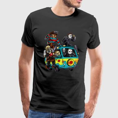 The Massacre Machine Horror Cooll - Men's Premium T-Shirt