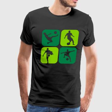 Freestyle Soccer soccer - Men's Premium T-Shirt