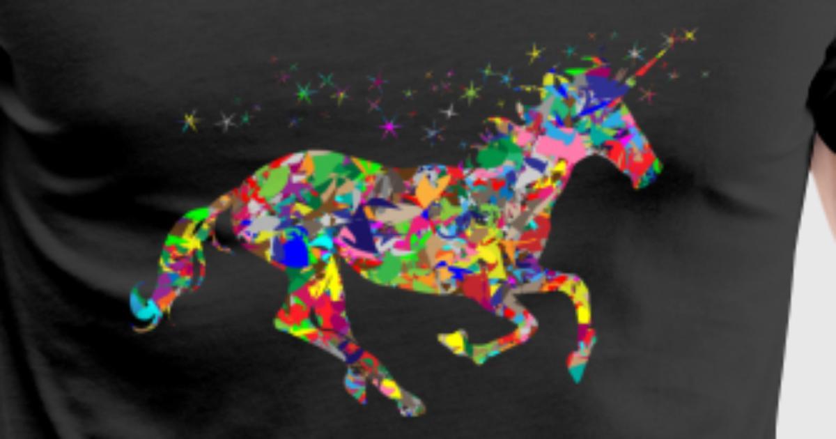 Colorful Unicorn by Manikus | Spreadshirt