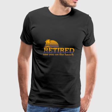 Retired pension - Men's Premium T-Shirt