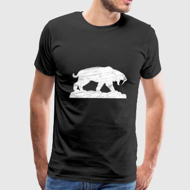 saber tooth ice age - Men's Premium T-Shirt