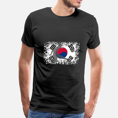Seoul South Korea Football Soccer - Men's Premium T-Shirt